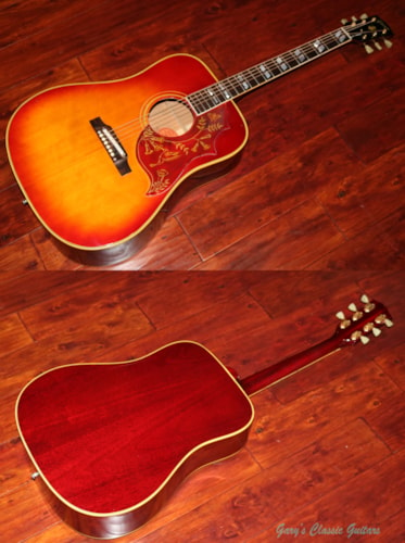 1963 Gibson Hummingbird (#GIA0649) Cherry Sunburst, Very Good, Original Hard, $6,595.00
