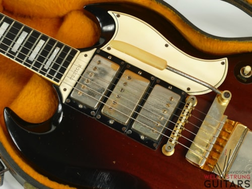 1963 Gibson SG Custom Tobacco Sunburst