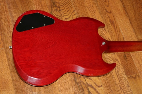 1963 Gibson SG Les Paul  Cherry Red, Excellent, Hard, $7,995.00