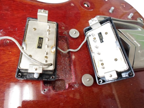 1963 Gibson SG Standard Cherry Red 1 PAF 1 Pat # Clean OHSC