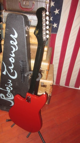 ~1963 Hofner Double Pickup Electric Solidbody Red model 172