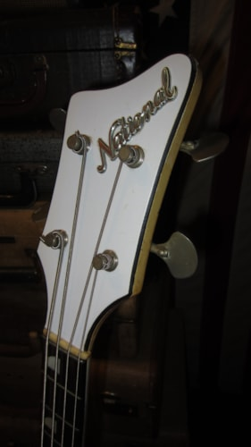 1963 National Val Pro 85 Electric Bass White