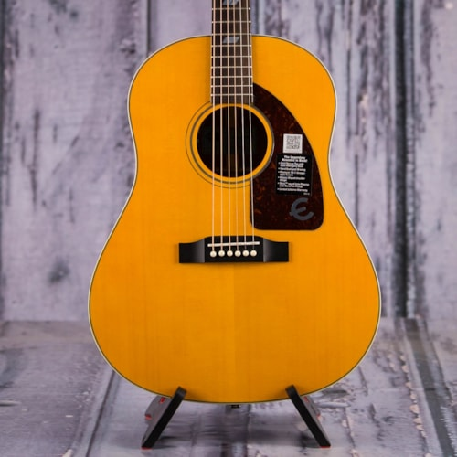 Used Epiphone Inspired By 1964 Texan Acoustic/Electric, Antique Natural