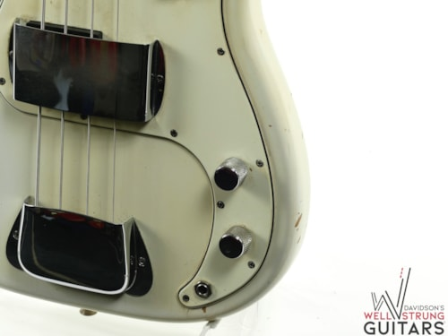 1964 Fender Precision Bass Olympic White