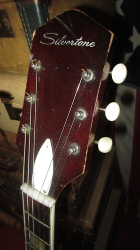 1964 Silvertone Model 1454 3 Pickup Electric W/ Bigsby Sunburst, Excellent, GigBag, $1,495.00