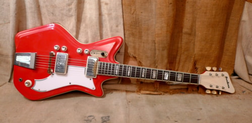 "1965 Airline ""Jetsons"" JB Hutto Red"