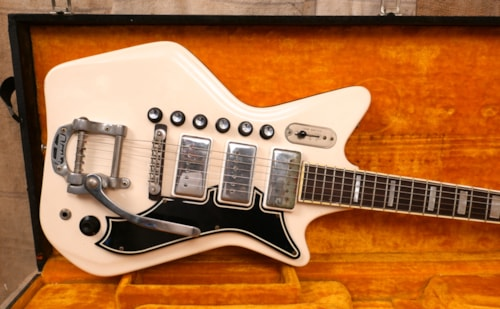 1965 Airline  Professional Triple Pickup White