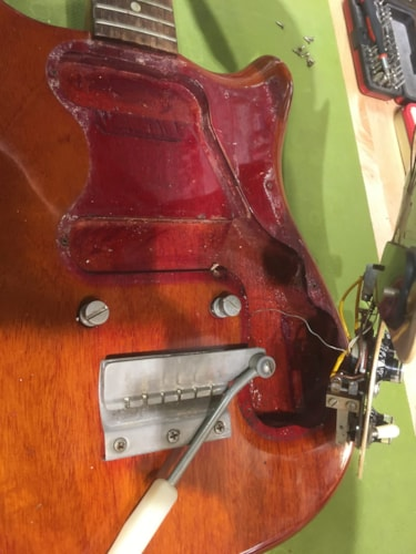 Epiphone Olympic Double Cherry 1965