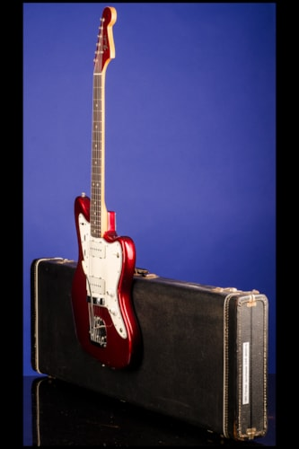 1965 Fender Jazzmaster Candy Apple Red with Matching Headstock