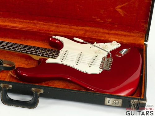 1965 Fender Stratocaster Candy Apple Red