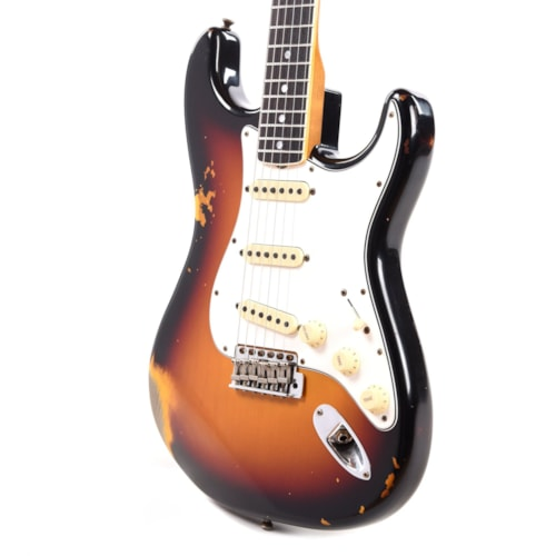 """Fender Custom Shop 1965 Stratocaster """"Chicago Special"""" Relic Faded/Aged 3-Color Sunburst w/Roasted Bound Neck"""