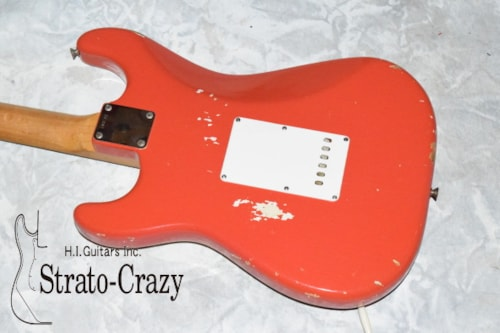 1965 Fender® Stratocaster® Fiesta Red, Excellent, Original Hard, Call For Price!