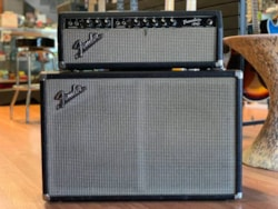 1965 Fender Tremolux head and cabinet