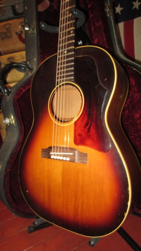 1965 Gibson LG-1 Small Bodied Acoustic Sunburst