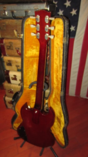 1965 Gibson SG Standard Cherry Red