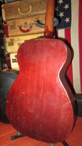 1965 Guild F-20 Small Bodied Acoustic Natural