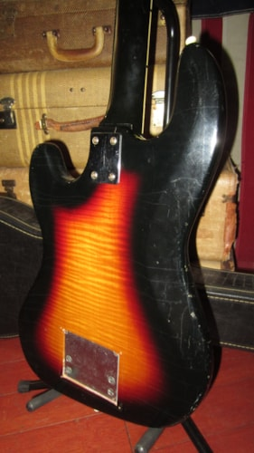 ~1965 Hofner Galaxy 176 Sunburst Triple Pickup w Tremolo