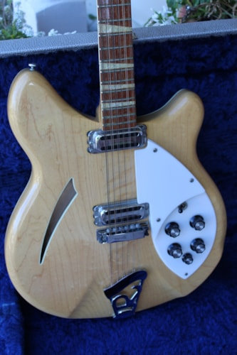 1965 Rickenbacker 360-12 string Electric- Mapleglo finish w/ original hard case. XLNT++
