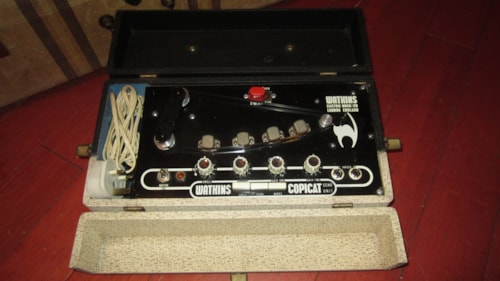 1965 Watkins Copicat Analog Tape Delay White and Black, Excellent