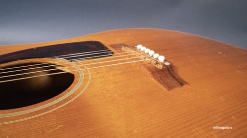 1966 Epiphone FT-110 Frontier Natural