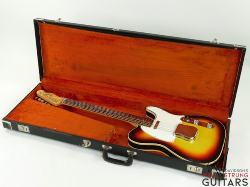 1966 Fender Custom Telecaster Sunburst