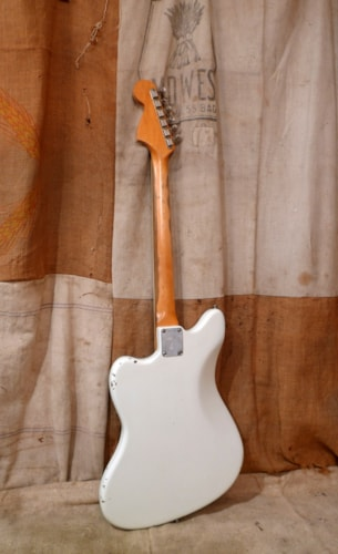 1966 Fender® Jazzmaster™ White - Refin, Very Good, Hard, $3,000.00