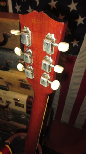1966 Gibson ES-330 TD Hollowbody Electric Cherry Red, Excellent, Original Soft, $3,999.00