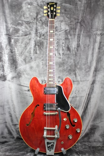 1966 Gibson ES-335 Cherry with Factory Bigsby & Original Case