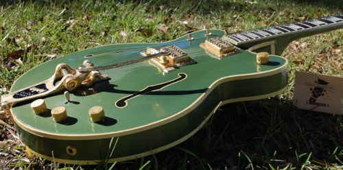 1966 Gretsch / Gibson 6120/ ES 347 Cadillac Green, Good, Original Hard