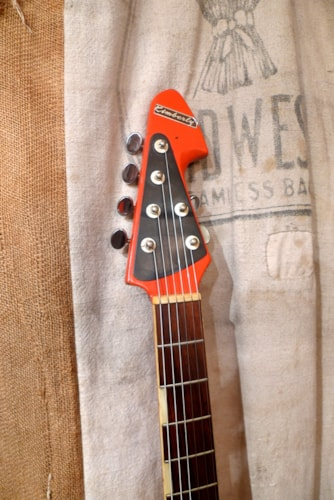 1966 Kimberley By Teisco  ET-320 Orange