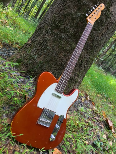 1967 Fender Telecaster Candy Apple Red