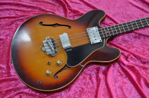 1967 Gibson EB-2 SUNBURST, Very Good, GigBag, Call For Price!