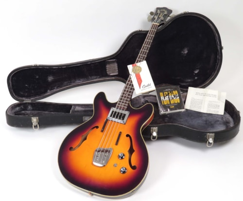 1967 Guild Starfire Bass I Sunburst