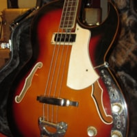 1967 VOX Apollo Hollowbody Bass w/ Built In Effects