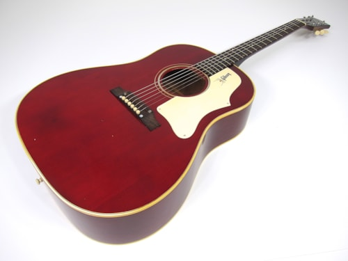 1968 Gibson J-45 Factory Cherry Red Perfect, Near Mint, Original Soft, $4,999.00