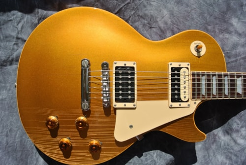1968 Gibson Les Paul Standard Goldtop Gold, Very Good, $8,950.00