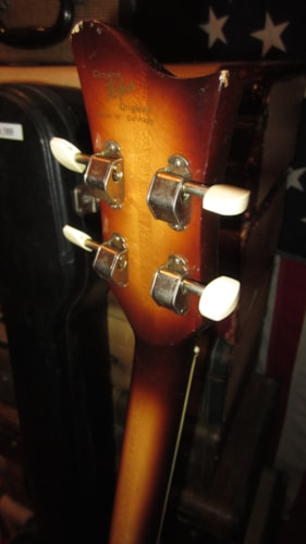 1968 Hofner 500/1 Beatle Bass Sunburst, Excellent, Original Hard, $2,495.00