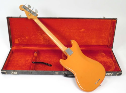 1969 Fender Mustang Bass Competition Orange