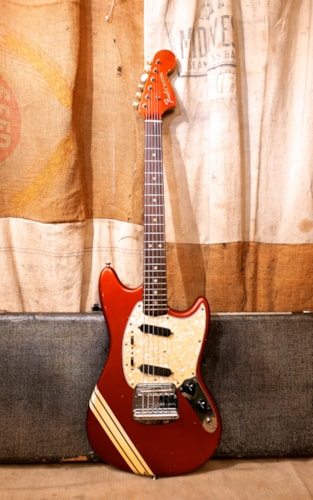 1969 Fender Mustang Competition Red