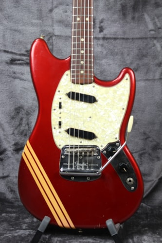 1969 Fender Mustang Competition Red with Matching Headstock