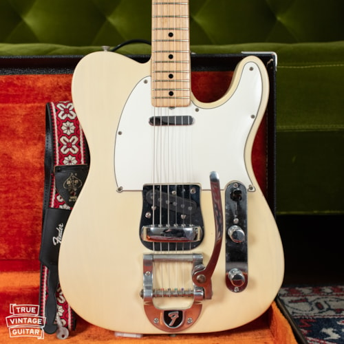 1969 Fender Telecaster Blond, Ash body, Maple cap, factory Bigsby