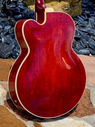 1969 Gibson L-5CES Custom See-Thru Red finish