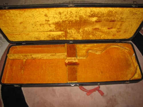 1969 GIBSON LES PAUL STANDARD gold top 1 pc (1956 reissue) GOLD TOP