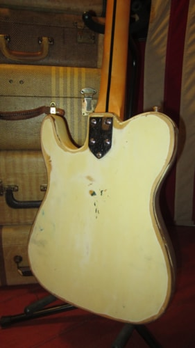 ~1969 Maxon Telecaster Thinline Partscaster Natural Made in Japan Plays Great