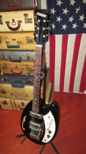 1969 Teisco May Queen Black