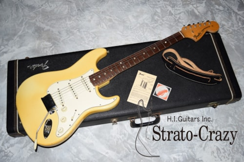 1970 Fender Stratocaster Olympic White, Excellent, Original Hard, Call For Price!