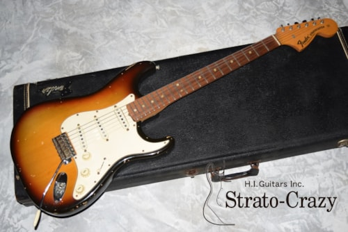 1970 Fender Stratocaster Sunburst/Rose neck