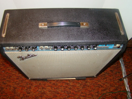 1970 Fender Super Reverb (all original) Black