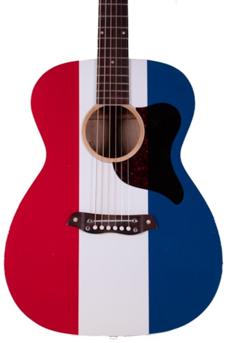 1970 Harmony H169 Buck Owens American Red, White, and Blue