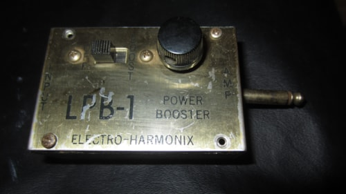 1971 Electro-Harmonix LPB-1 Chrome, Excellent, $149.00